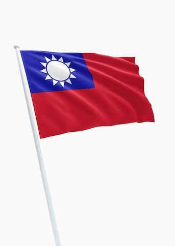 Taiwanese vlag huren