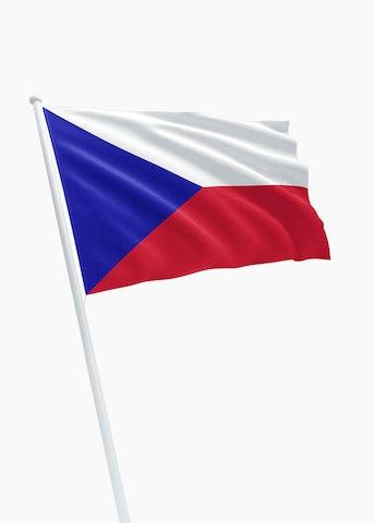 Tsjechische vlag huren