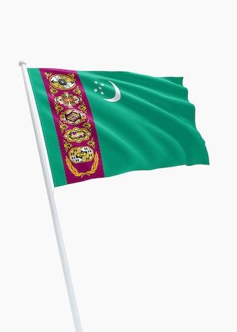 Turkmeense vlag huren