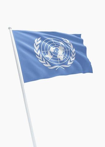 Verenigde Naties vlag huren