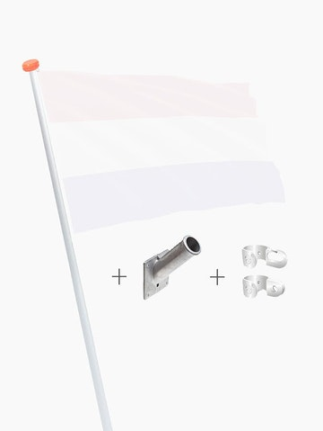 Set vlaggenstok compleet