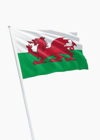 Welshe vlag huren