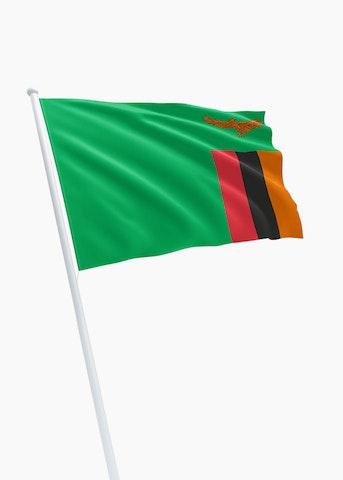 Zambiaanse vlag huren