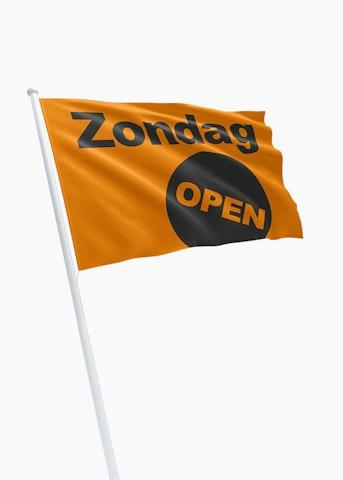 Zondag open vlag