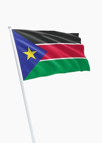 Zuid-Soedanese vlag