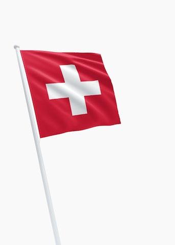 Zwitserse vlag huren