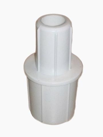 Adapter voor gevelstokknop