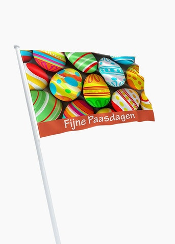 Fijne Paasdagen vlag