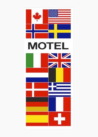 Motel vlaggen
