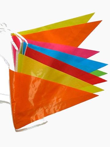 Effen divers vlaggenlijn